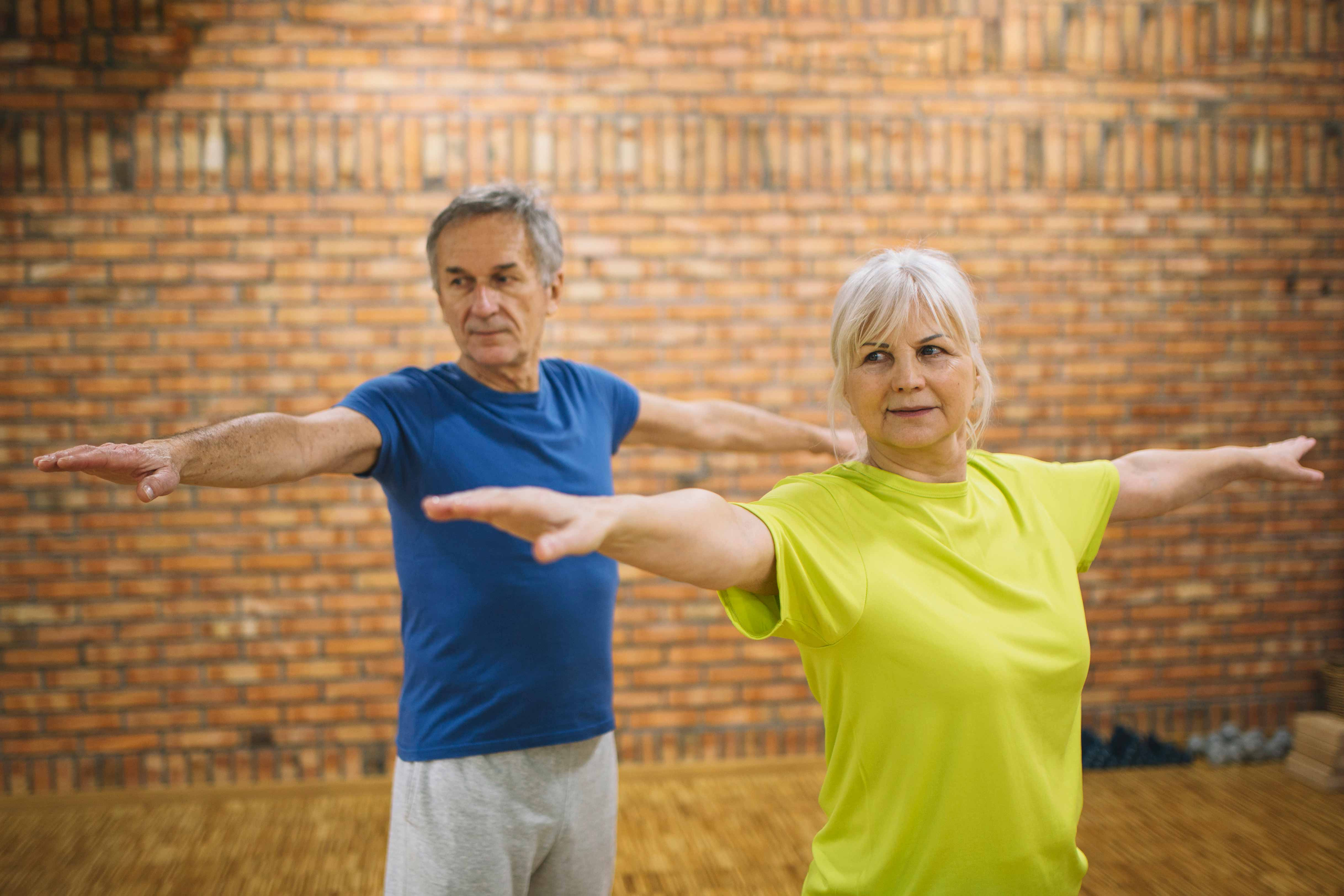 Balance exercises for people with Parkinson's