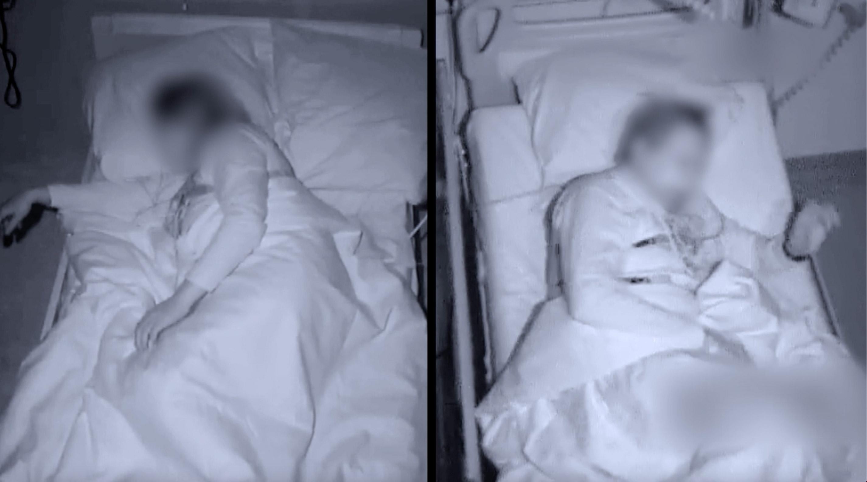 footage from the sleep lab