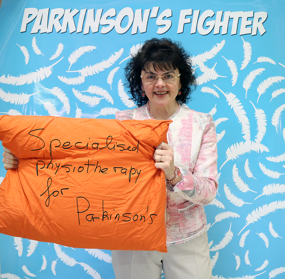 Parkinson's Fighter - Mariella - Physiotherapist