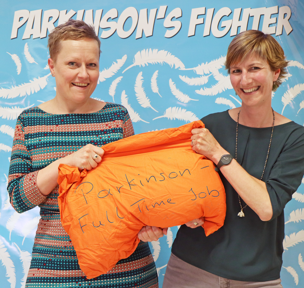Parkinsons Fighter - Carole & Sylvia - Speeh and language therapists