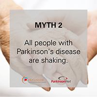 Parkinson's disease myth 2