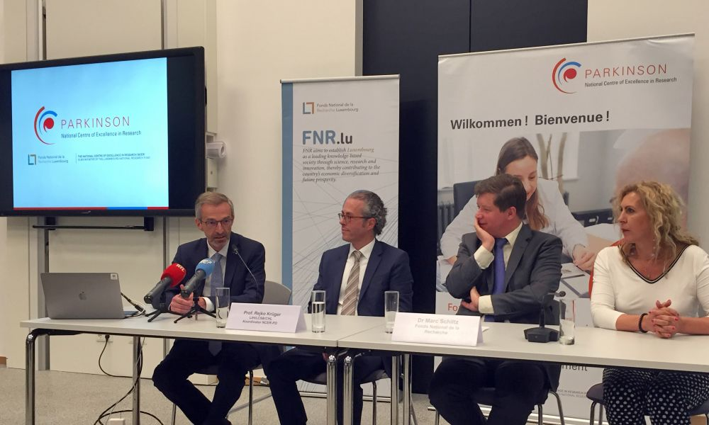 Luxembourg Parkinson's Study funded with an additional 6 million euros by the FNR